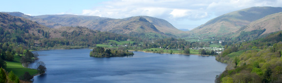 The view from Loughrigg terrace