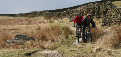 Riding up to Kentmere